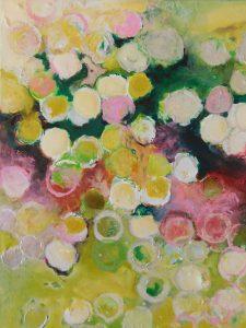 Sinéad Ní Chionaola. White light. Acrylic on canvas. 200x250mm 2018