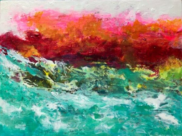 Art Cards - Pack Of 4 - Seascape