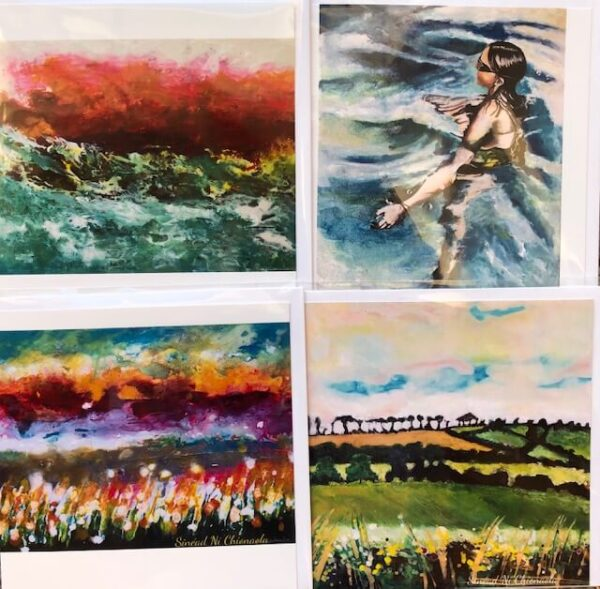 Art Cards - Pack Of 4 - Mixed